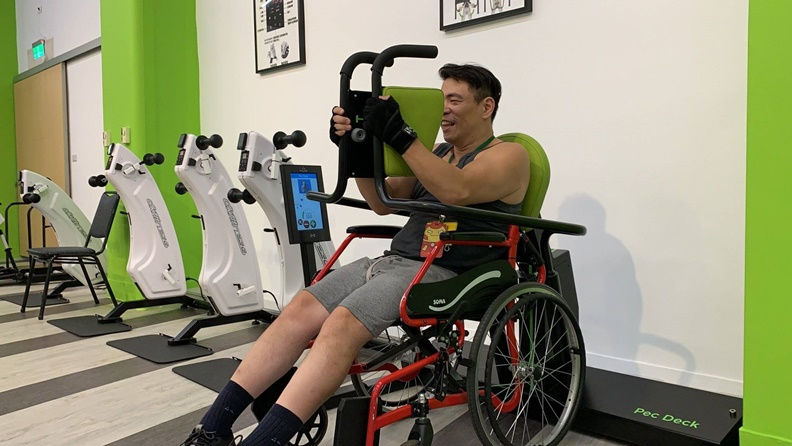 取自FB:新北市輪椅夢公園。