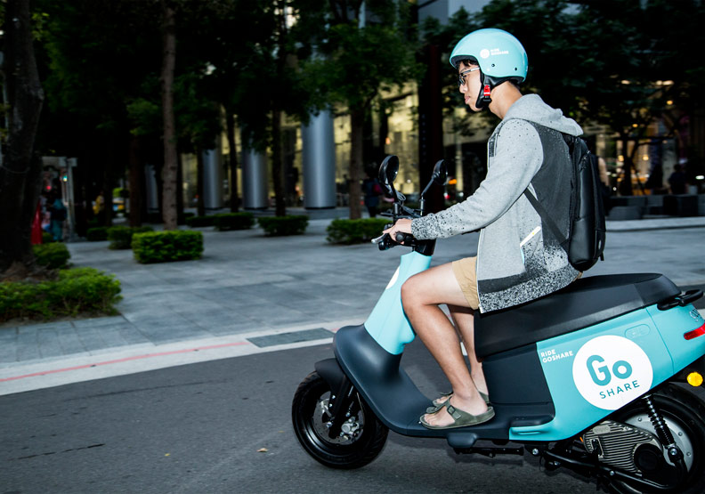 Go Share是另一套受歡迎的共享電動機車系統。
