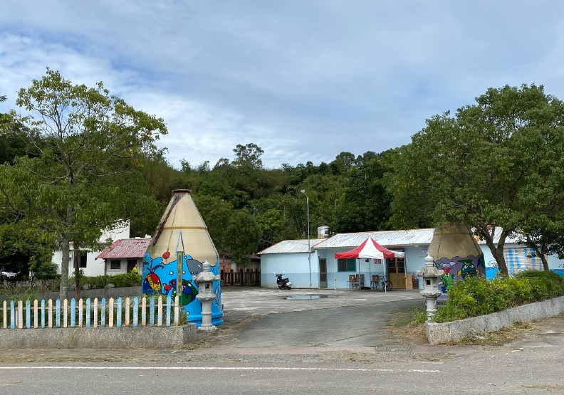 羅山村內的「羅山學堂」,提供當地小朋友學習資源跟空間。