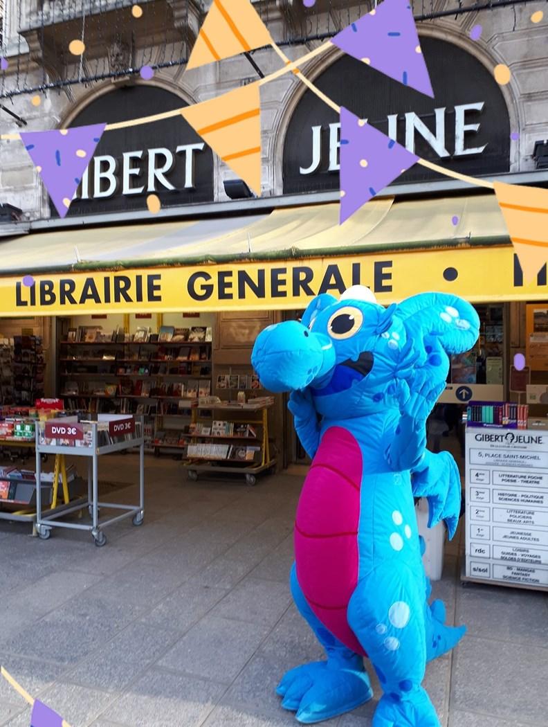 另一間宣布即將歇業的老牌書店Gibert Jeune。(圖片來源:該店臉書)