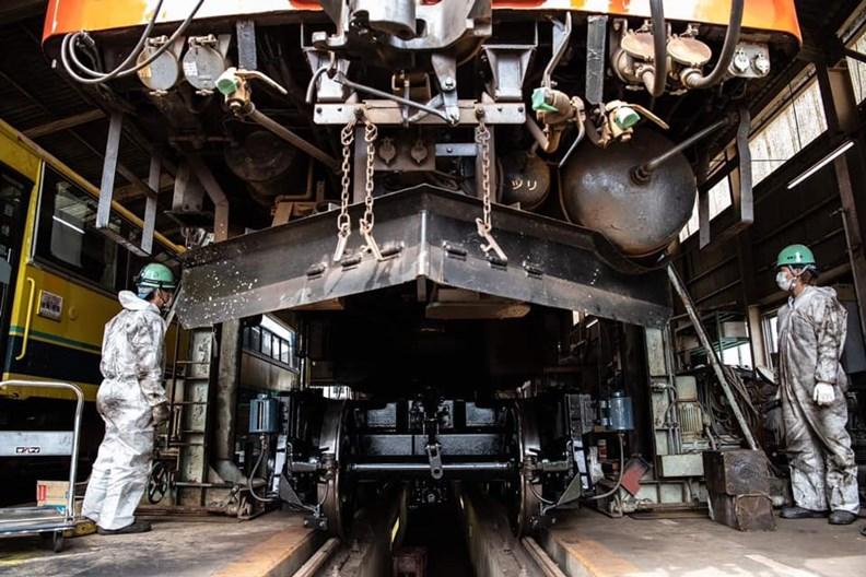 愈來愈多鐵道業者採取「上下分離式」經營策略。(圖片來源:夷隅鐵道)