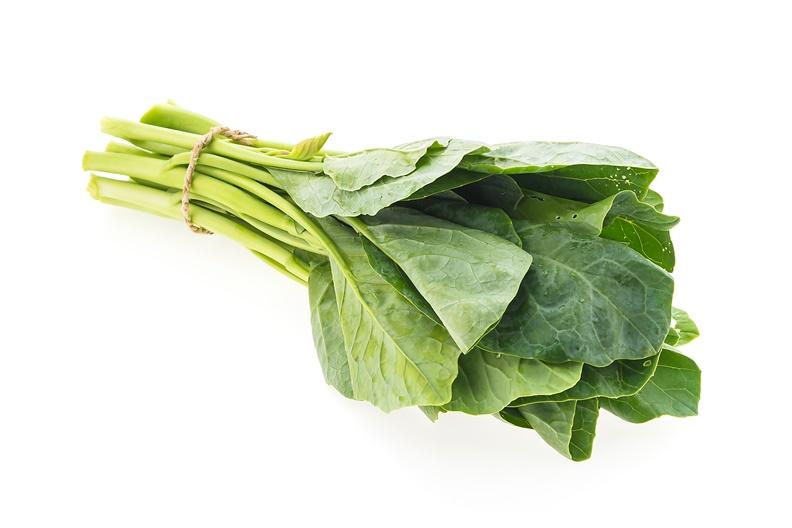 芥藍菜的營養素有豐富的鈣。取自mrsiraphol/freepik