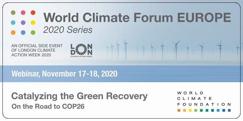 圖片來源:世界氣候論壇官網