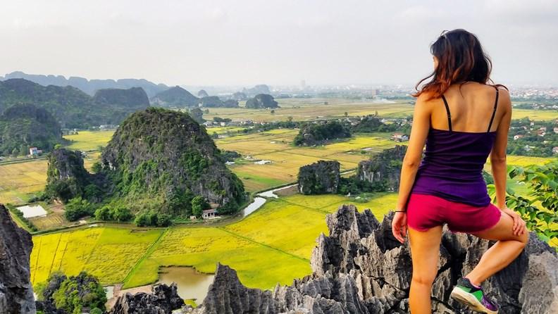 越南的寧平是我最愛的景點之一。(圖片來源:作者提供)