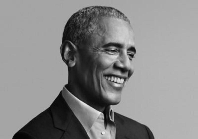 前美國總統歐巴馬。圖片來自Twitter@barrackobama