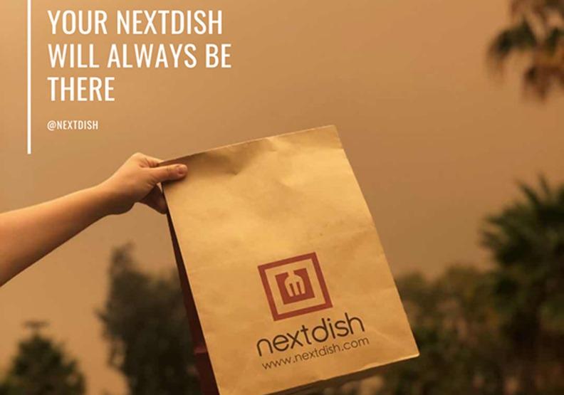 Nextdish主打送餐服務。來自NextDish Facebook