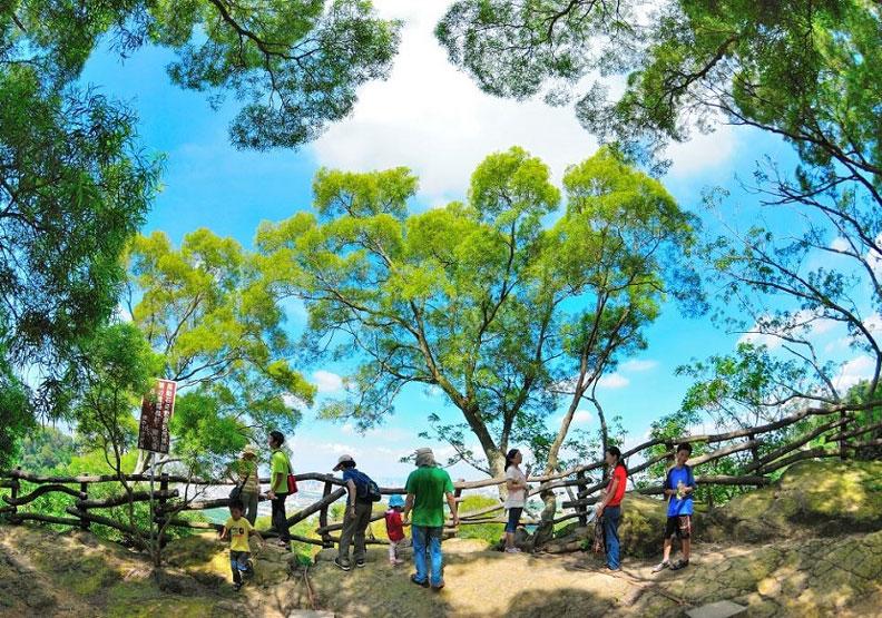 大坑登山步道是很受旅客歡迎的台中景點。出自台中市政府觀光旅遊局