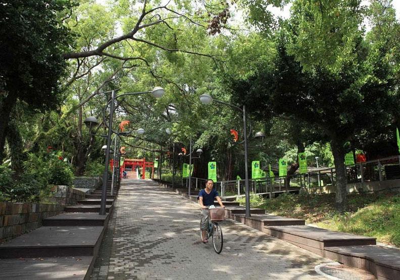 位於市中心的鯉魚山,是許多台東人從小郊遊踏青的熟悉地點。出自台東觀光旅遊網