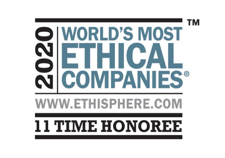 萊雅集團被Ethisphere Institute(道德村協會)認可為「2020年全球最具道德的公司」之一。圖片為作者提供