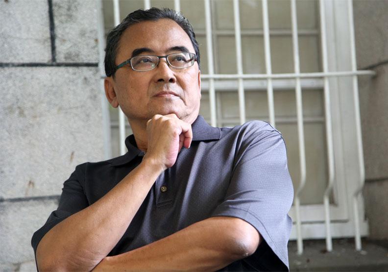 移居台南12年的魚夫。