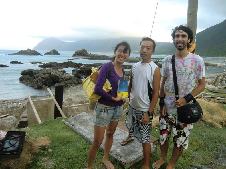 2014年在蘭嶼認識香港來的Jason,那時他已經獨自環遊世界8年了。(圖片提供:作者)