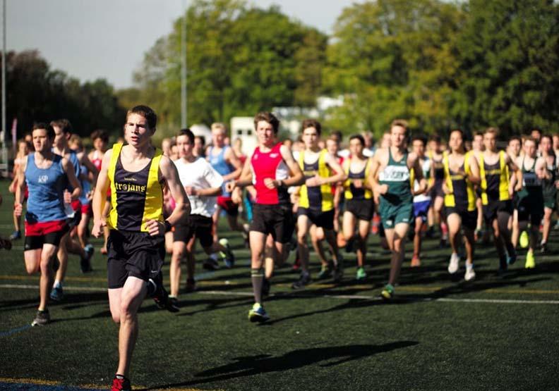 國際馬拉松比賽。圖片來源為pixnio