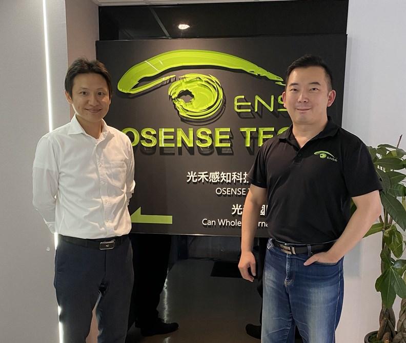 擁有新創經驗的大慶證券科技長沈育德(左)。 圖片取自創業爆走王臉書