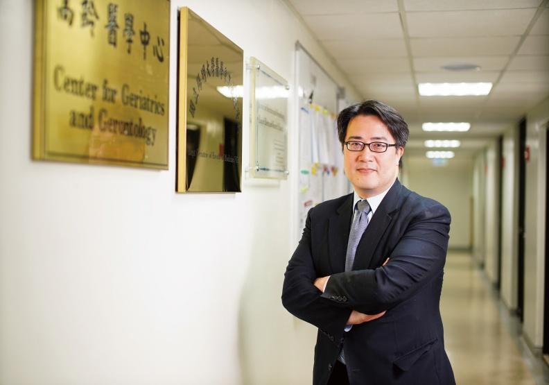 陳亮恭樂於傳播健康老化的觀念,是高齡醫學界聲量最高的醫師之一。賴永祥攝