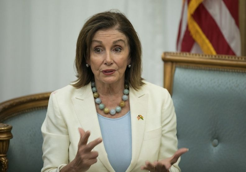 美國眾議院議長裴洛西近照,圖片來自Flickr。