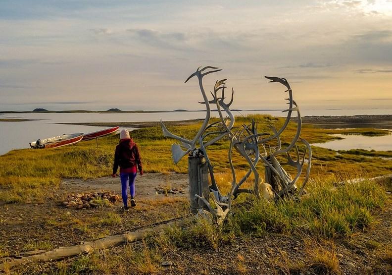 通往北極海的路上,那個快要消失的加拿大圖克小鎮