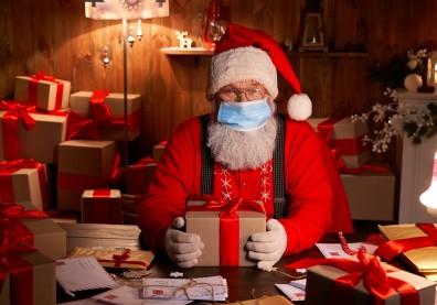 聖誕老人可能帶新冠病毒來送禮?