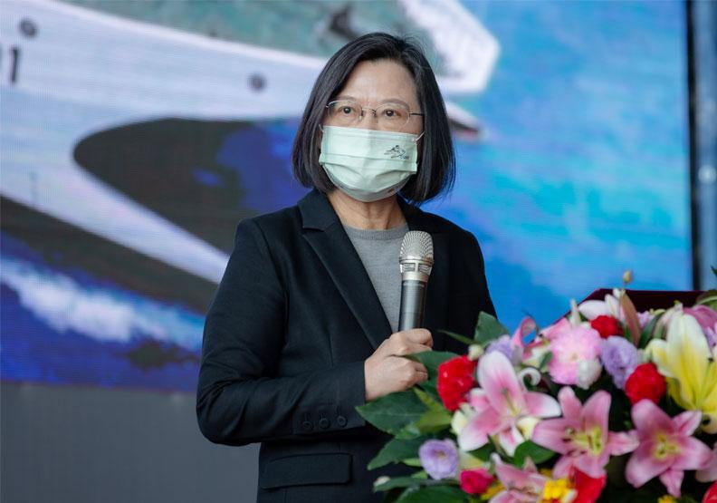 美國總統守護美國利益。那麼蔡英文總統如何守護台灣利益呢?圖片由總統府提供