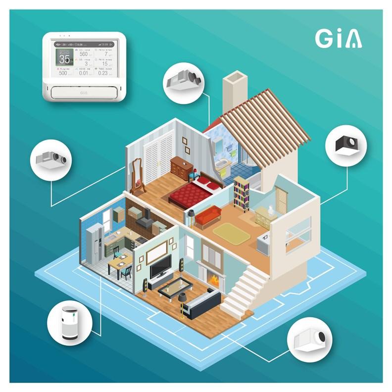 欣寶主張以智慧管理系統來串連不同設備,自動化地改善空氣品質。(圖片提供:欣寶)