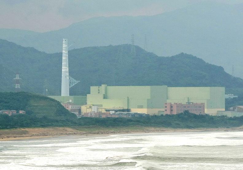 核四廠。蘇義傑攝