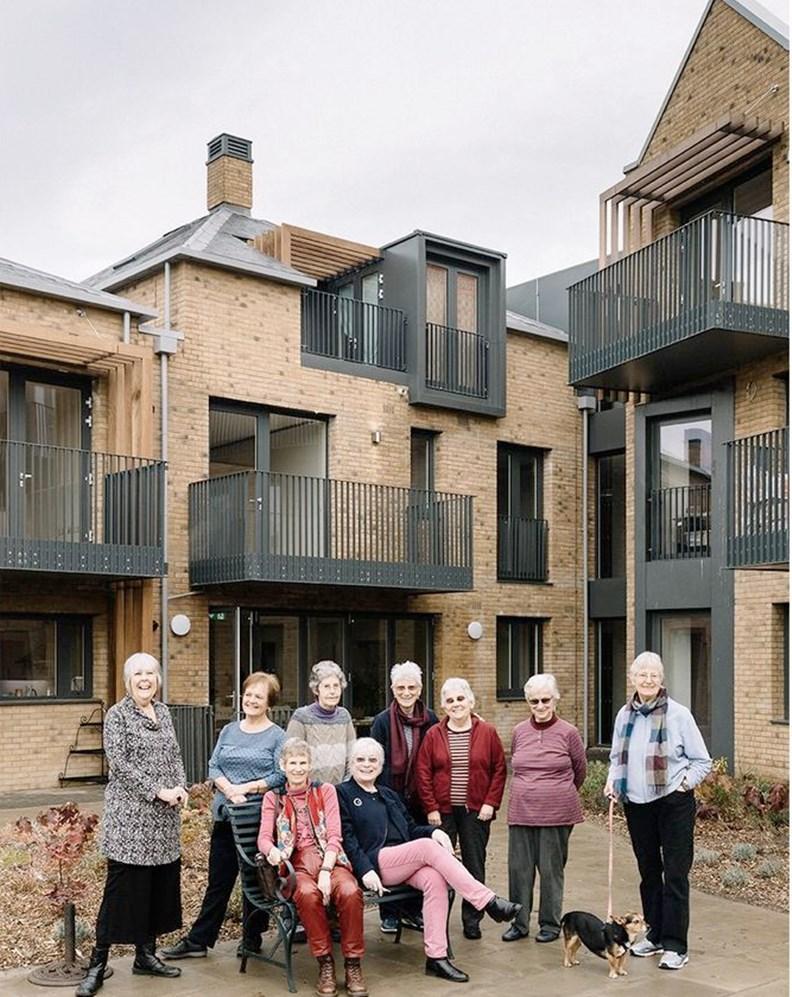 英國的New Ground合作住宅。