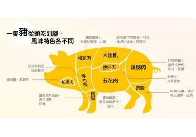 一圖看懂松阪豬!國產豬肉占九成,就是不愛萊克多巴胺和美豬
