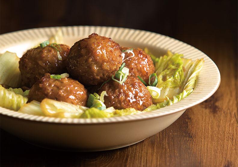 春節年味漸濃!不過時的年菜食譜:紅燒豆腐獅子頭
