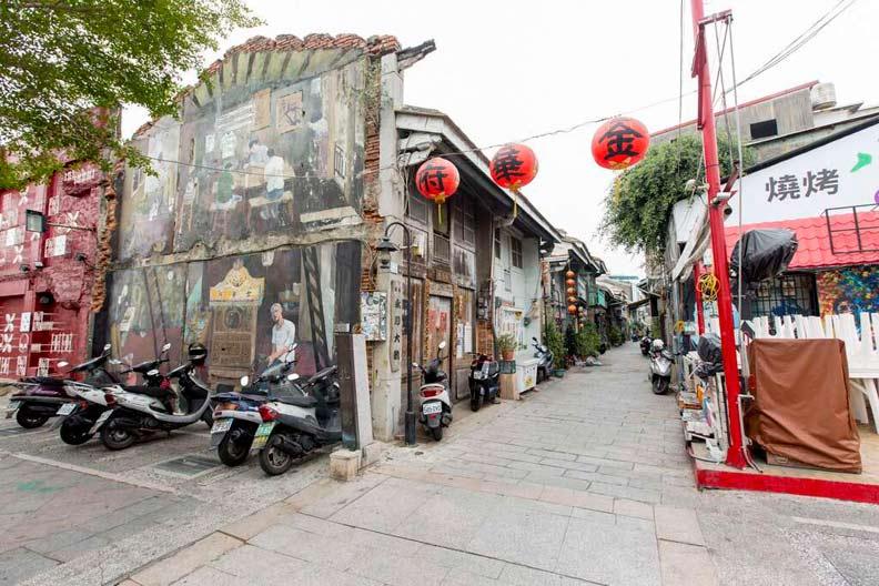 神農老街。取自臺南市政府觀光旅遊局