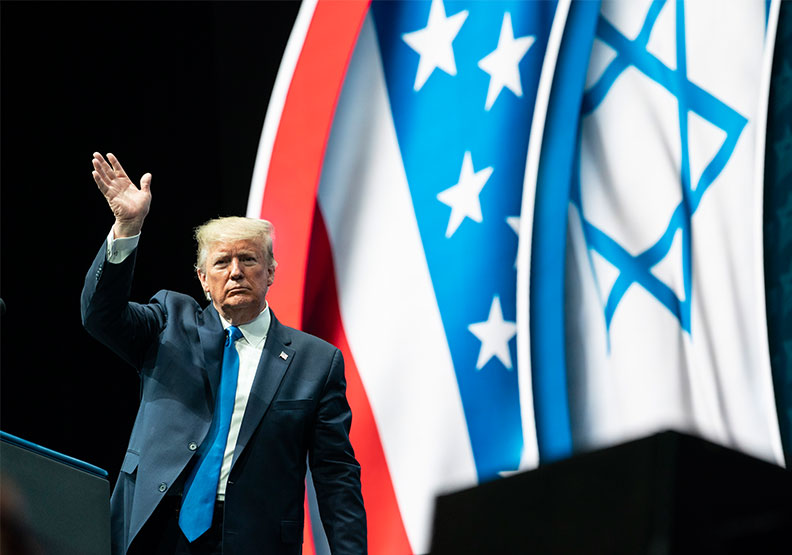 川普在促進中東外交與和平上取得的成就,遠勝前人。圖片來自Flickr by Trump White House