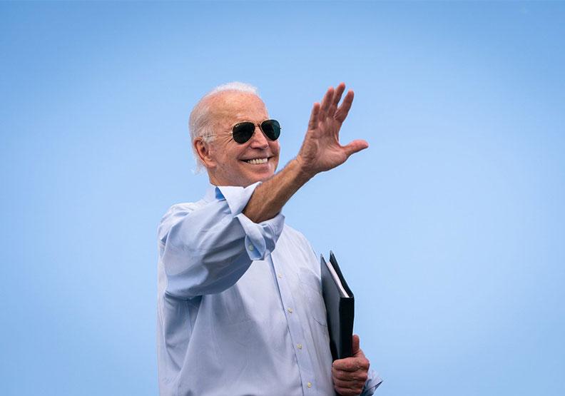現任美國總統拜登,圖片來自Twtter@JoeBiden