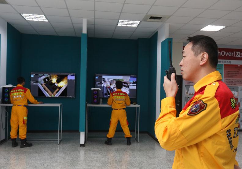 防災現場的無線電溝通相當重要,若彼此溝通有誤,就可能誤判情勢。