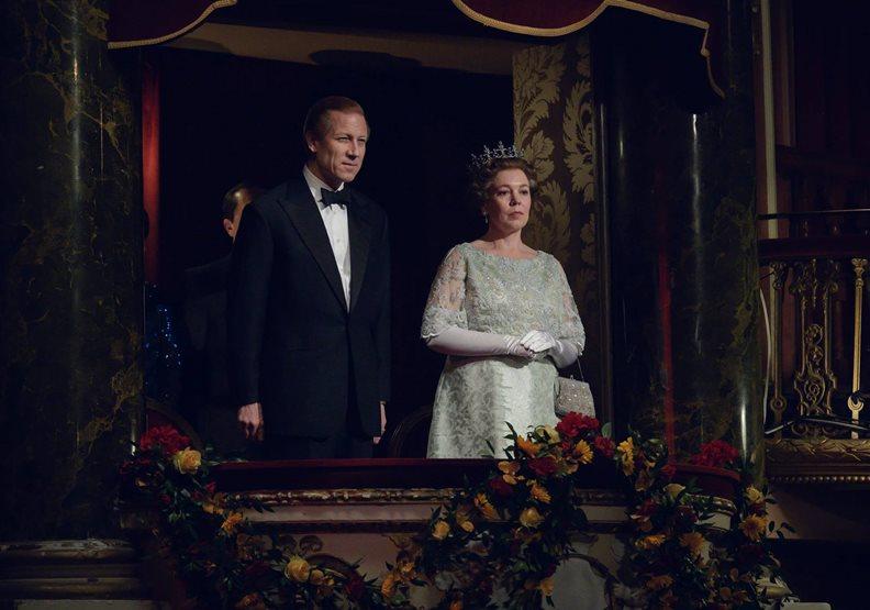 探討英國王室的熱門影集「王冠(The Crown)」劇照,圖片來自Netflix