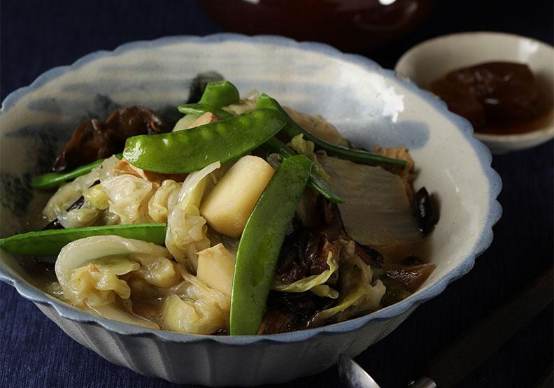 「百菜不如白菜」!現在吃白菜最對時,動手做台式蔭瓜白菜滷