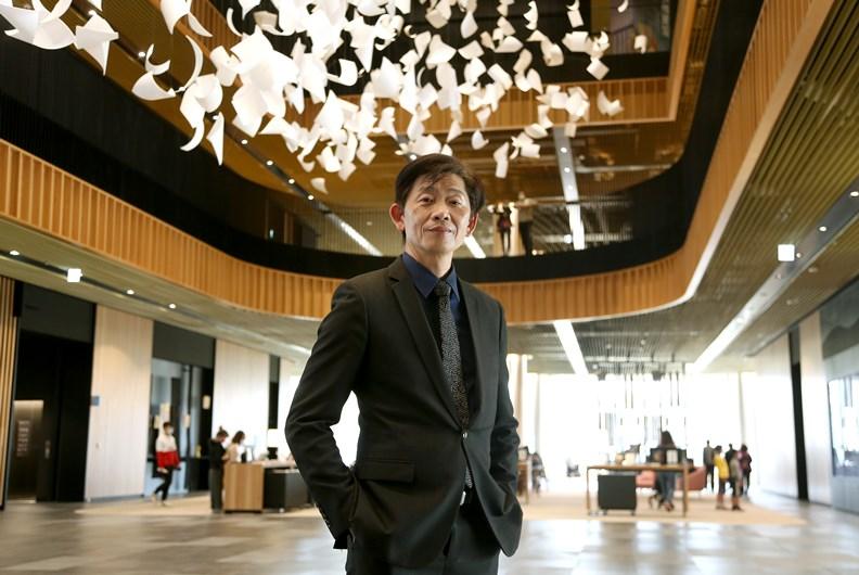 台南市文化局長葉澤山。