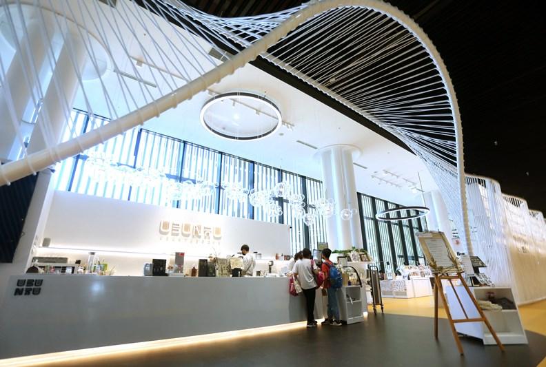 最美咖啡廳「烏邦圖」也在此設立分店。