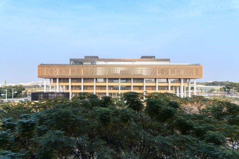台灣最新的公共圖書館,就在台南!(圖片來源:台南市政府)