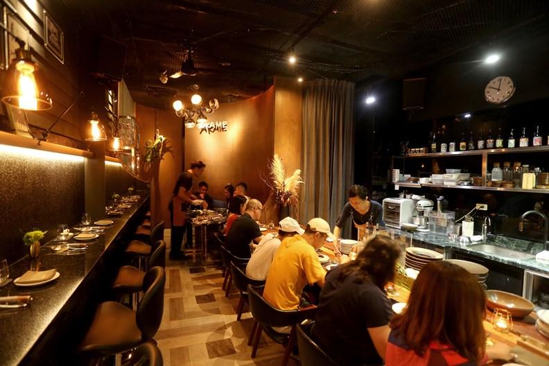 AKAME被稱為「南台灣最難訂的餐廳」。