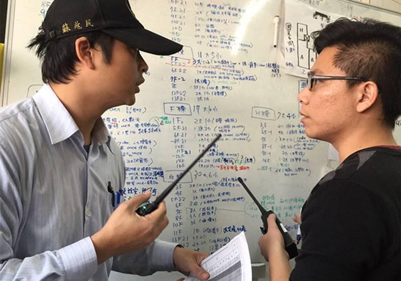 救災的應變迅速,有賴於平日的扎實演習。圖片來自台南市府
