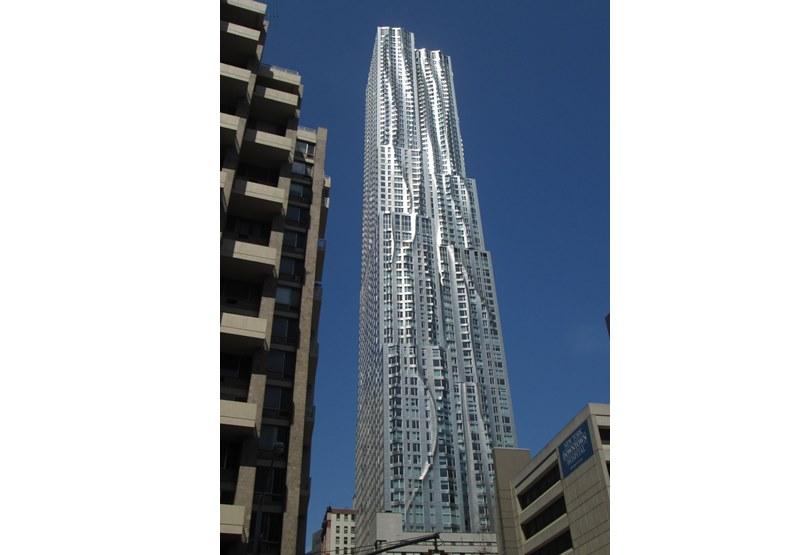 紐約雲杉大樓,圖片來自維基百科