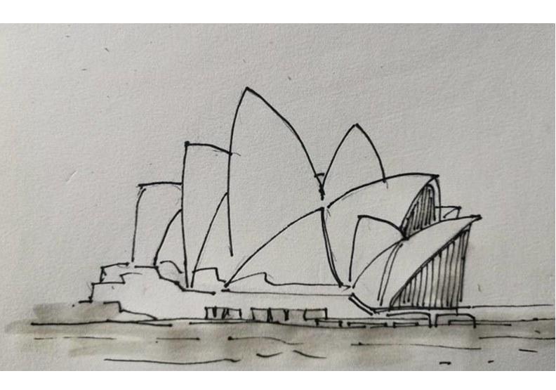 雪梨歌劇院,作者提供。
