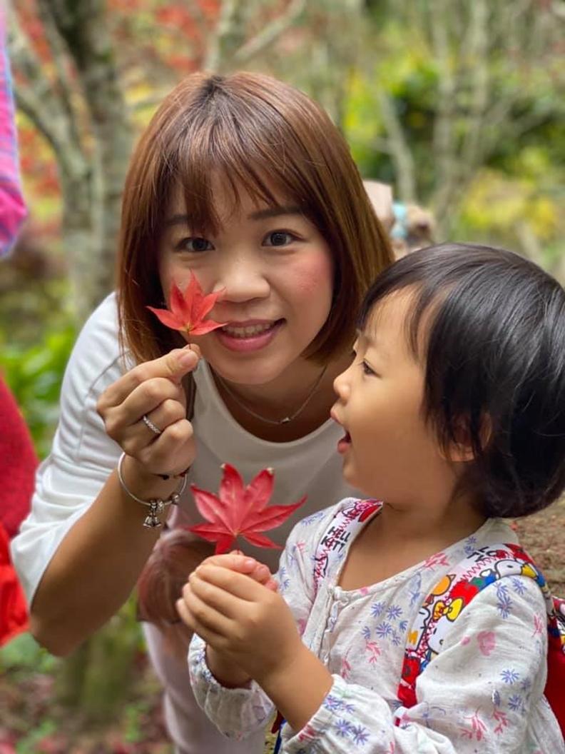 家長常帶孩子從事戶外活動,有助親子感情增溫。作者柯俊銘提供。
