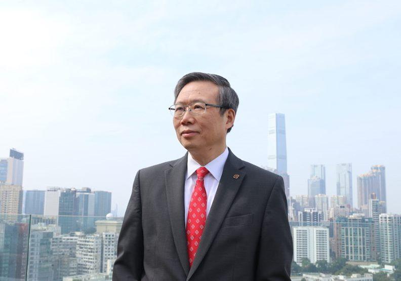 香港理工大學校長滕錦光教授,是繼香港大學張翔校長之後,第二位內地人士擔任本港大學校長。(灼見名家圖片)