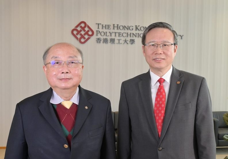 2020年12月有幸專訪滕錦光校長與容啟亮教授,分享他們對理大如何參與國家航天工程發揮影響力,顯示香港科研實力。(灼見名家圖片)