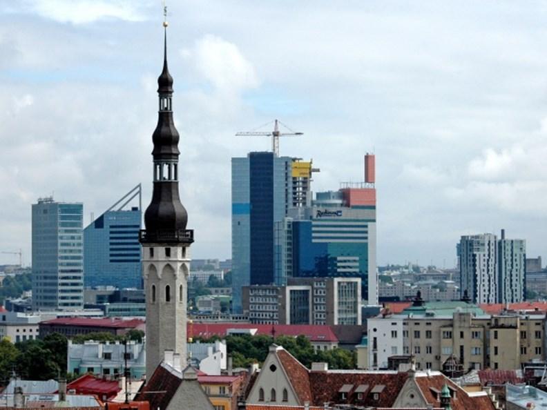 愛沙尼亞首都塔林是歐洲著名古城。圖片取自 Visit Estonia 臉書