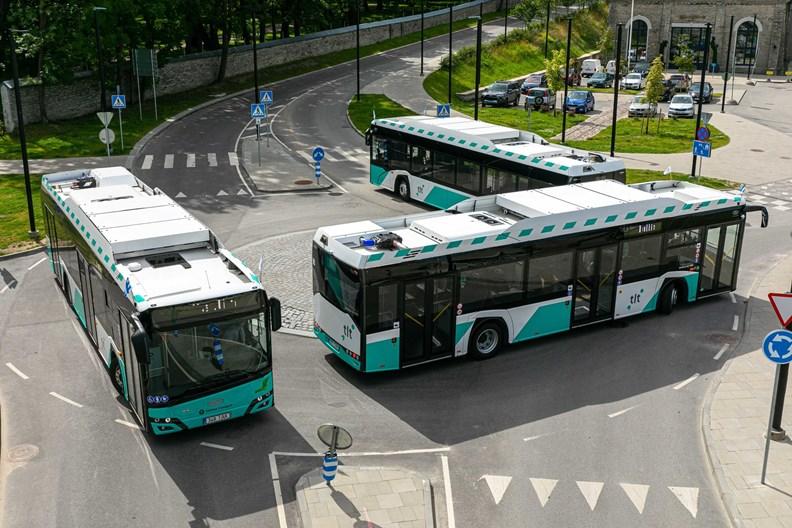 改善城市交通狀況,是塔林未來的推動重點。圖片取自塔林臉書