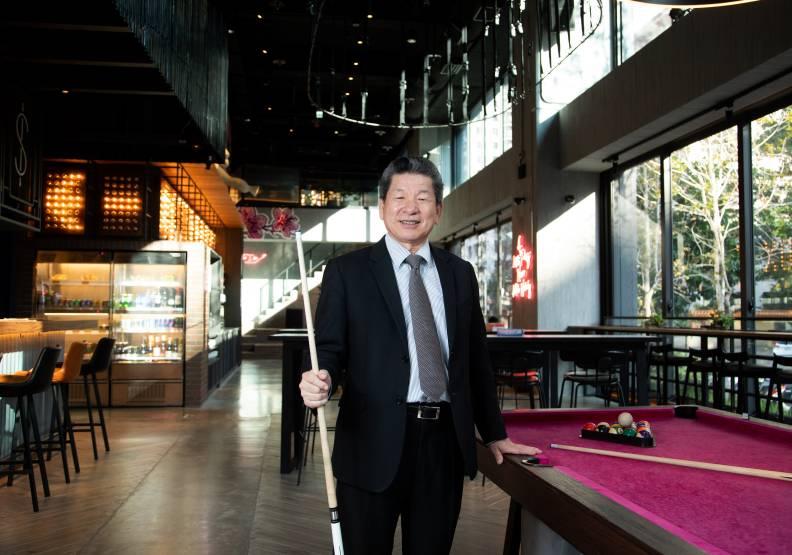 豐邑總經理邱崇喆看好台中的消費力,引進潮牌MOXY,很受年輕人歡迎。