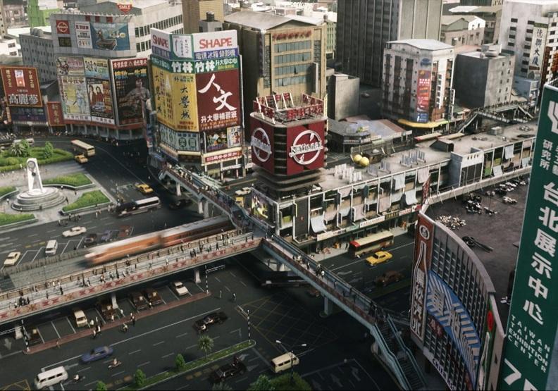 1980年代的中華商場在影集中被如實還原