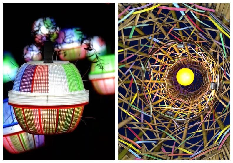 來參展港燈節的藝術作品,提升了在地美學靈感。作者提供
