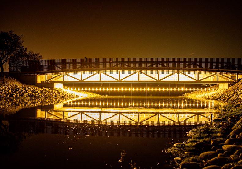 月津港燈節今年本要展出的作品,可惜在最後一刻取消。作者提供