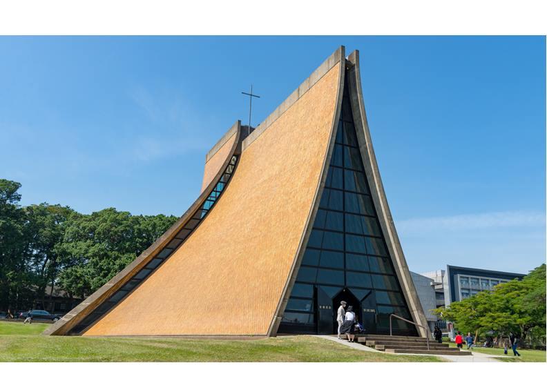 東海大學路思義教堂,圖片來自Wiki